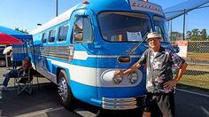 Just Cool Cars: '49 art-deco bus becomes classy RV