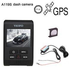 Original VIOFO A119S Upgraded V2 2.0 Super Capacitor Novatek 96660 HD 1080p GPS Car Dashcam Camera DVR  CPL  hardwire cable (32793515265)  SEE MORE  #SuperDeals