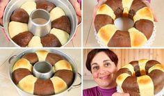 PAN BRIOCHE BICOLORE FATTO IN CASA - Homemade Two Color Bread Brioche | Fatto in casa da Benedetta