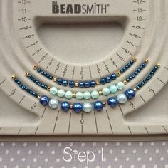 In this tutorial, we'll show you how to make a three strand beaded necklace that's versatile enough to be worn with any outfit! This project is great for beginners as there are just a few basic… #HandmadeJewelry