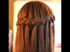 peinados faciles bonitos y rapidos con trenzas para niña con cabello largo - YouTube