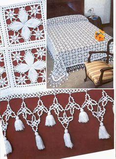 Crochet: Colcha