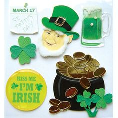 Jolee's Boutique® St. Patrick's Day Stickers