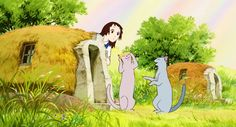 The Cat Returns – Royaume des Chats Studio Ghibli Films, Studio Ghibli Art, Studio Art, Hayao Miyazaki, Best Ghibli Movies, The Cat Returns, Howls Moving Castle, Superhero Movies, Anime