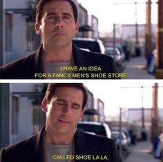 Michael scott, the office, Steve Carell. Best Of The Office, The Office Show, Best Tv Shows, Best Shows Ever, Movie Quotes, Funny Quotes, Threat Level Midnight, Office Jokes, Steve Carell