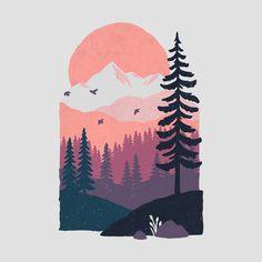 Landscaping Tattoo Forest - Easy Landscaping Around Trees - Desert Landscaping - Landscaping Layout Cover - Painting Inspiration, Art Inspo, Doodle Drawing, Posca Art, Plakat Design, Guache, Arte Disney, Diy Canvas Art, Art Plastique