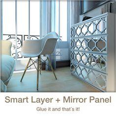 Fast Layers Und Spiegel   Trellis   Verwandeln Sie Ihre IKEA® Möbel Mit  Diesen Einfach Zu Gelten Overlays! Sie Werden Von Den Ergebnissen Schockiert  Sein!