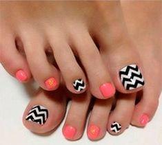 7 diseños de uñas para pies para estar mas linda - Mujeres Femeninas