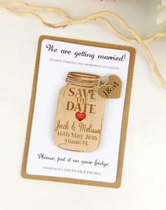 Custom Save the Date Magnet Set Wood Save by YourWeddingProject Fall Wedding, Diy Wedding, Dream Wedding, Wedding Favours, Wedding Cards, Wedding Stationary, Wedding Invitations, Wedding Save The Dates, Save The Date Ideas