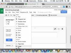 ▶ Branching Google Form - YouTube-  Create Branching Google Forms that lead students to further assistance. Easy !