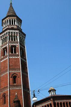 Milano, S. Gottardo in Corte, campanile