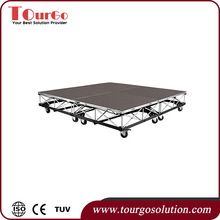 Tourgo Mobile Stage Drum Riser On Casters With Carpeted 6ft X 6ft View Mobile Drum Riser Tourgo Product Details From Shenzhen Tourgo Event Solution Co Ltd Event Solutions Casters Riser