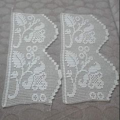 Alıntı Crochet Curtains, Crochet Doilies, Love Crochet, Filet Crochet, Color Patterns, Crochet Projects, Diy And Crafts, Projects To Try, Crochet Patterns