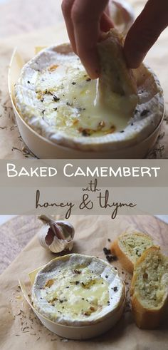 Baked camembert melts to a thick rich creamy consistency, perfect for dipping. It makes a delicious light meal, perfect for sharing and great with drinks. #bakedcheese #cheeseappetizer #lightlunch #bakedcamembert #bakedcheesesnacks Baked Camembert, Baked Cheese, Cheese Appetizers, Light Recipes, Cooking Tips, Tapas, Favorite Recipes, Snacks, Vegan