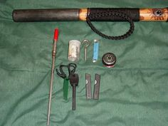 Picture of Survival Walking Stick great item to have when things go wrong