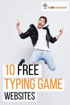 10 Free Typing Games for Kids_ Typing Practice & Lessons Made Easy! Educational Games For Kids, Educational Programs, Learning Games, Typing Practice For Kids, Learn To Type, Free Typing, How To Start Homeschooling, Typing Games, Programming For Kids