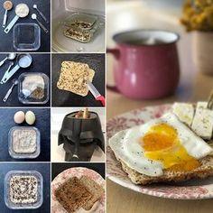 """""""PAN RÁPIDO DE AVENA""""👍🏻 Ingredientes: • 1/3 taza de avena molida • 1 cda. linaza molida • 1/2 cdta. polvos de ..."""