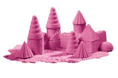 Amp up your indoor sandcastle with 2 lbs of extra moldable sand in fun colors!
