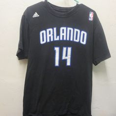 Nelson #14 Orlando Magic Adidas T-Shirt L