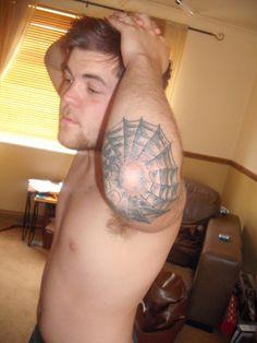 Spider web tattoo designs for women