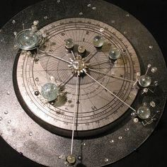 I kind of want a solar system model like this...