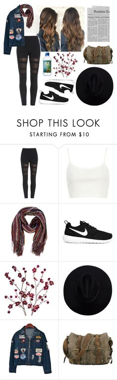 """""""I just need one thing"""" by sophiabotelho ❤ liked on Polyvore featuring River Island, Missoni, NIKE, Cost Plus World Market and Chicnova Fashion"""