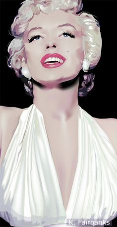 Marilyn Monroe in The Seven Year Itch by eyeqandy.deviantart.com