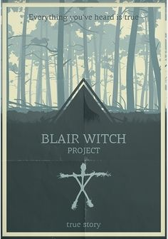The Blair Witch Project poster by Sergey Tkachenko