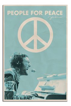 Cool John Lennon Concert Poster adds unique decor to your home or business. Every John Lennon Music collector would love this unusual gift. John Lennon Concert Posters are ready to hang with tabs on back. Woodstock, Les Beatles, John Lennon Beatles, Beatles Poster, John Lennon Quotes, Rock And Roll, Mundo Hippie, Concert Rock, Rock Vintage