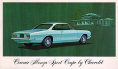 1969 Chevrolet Corvair Monza Sport Coupe.