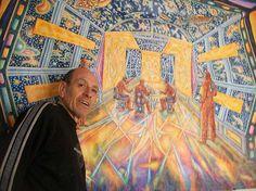 """Ganador de la Bienal Nacional de Arte de San Nicolás en el rubro dibujo, Carlos López Alvarez expondrá en Salerno, Italia, el 15 de octubre. Creador de un universo fascinante al que fue """"conducido en sueños por seres extraterrestres"""", la obra del pintor bellvillense es una invitación al viaje interior, un encuentro cercano con seres …"""