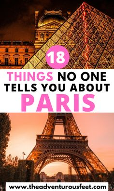 18 Things no one tells you about Paris - Wan to visit Paris? Here are the things no one tells you about this incredible city. Paris Travel Guide, Europe Travel Tips, European Travel, Travel Advice, Travel Guides, Travel Destinations, European Vacation, Paris In Spring, Oh Paris
