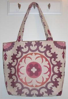 Gigi in pink and purple suzani by ellenadair on Etsy, $34.00