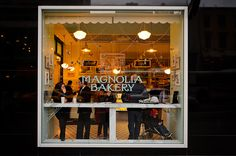 The original Magnolia Bakery in NYC succeeded in an incredibly small location... so small, during their first summer without air conditioning, the store got up to 100 degrees! Though we would NEVER recommend giving your customers heat stroke, it's amazing to see where they started and what they have become! #MagnoliaBakery #NYC