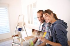 Best interior paint colors for your home First Home Buyer, Buying Your First Home, Best Interior Paint, Interior Paint Colors, Home Improvement Loans, Home Improvement Projects, Indoor Paint Colors, Creative Wall Painting, Paint Color Schemes