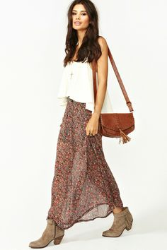 In Bloom Maxi Skirt