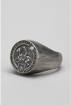 UrbanOutfitters.com > OBEY Horseman Ring