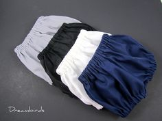 Infant Diaper Cover - Baby Bloomers - Pick Your Favorite Neutral Color - Size Newborn, 6 Months, 9 Months, or 12 Months.