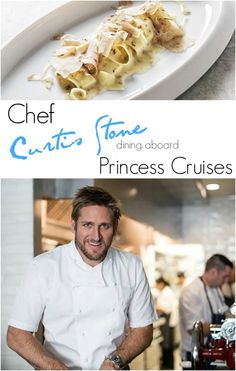 Dining at Sea with Chef Curtis Stone - find out more about the dishes he's serving and which cruises will be featuring them!