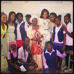#FLOTUSinAfrica  Photo by michelleobama