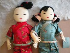 In the process of trying to identify a cloth doll from the late 1980s, I ran across this brief history of Ada Lum. Ada Lum (b. Australia ~1907[?]-d. Hong Kong 1988), sister of the tennis champion G...