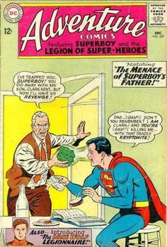 Adventure Comics #327 first appearance of Lone Wolf.