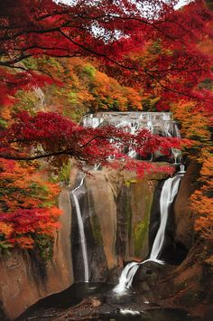 Beautiful Landscape photography : Fukuroda Falls Ibaraki Japan: photo by Janiar Putra 袋田の滝 Fall Pictures, Nature Pictures, Beautiful Waterfalls, Beautiful Landscapes, Beautiful World, Beautiful Places, Beautiful Beautiful, Beautiful Pictures, Landscape Photography