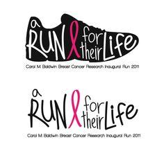 A Run for Their Life Logo by Samantha Dolph, via Behance