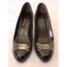 Women Shoes Bimba & Lola Silver and Black