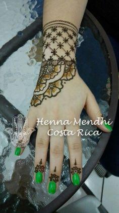 Henna Costa Rica Costa Rica, Henna Mehndi, Hand Tattoos, Henna Hands, Henna Tattoos