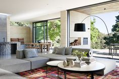 Merrick´s House Pure Architectural tranquility by Robson Rak 11 Casa Merrick Melbourne Tranquilidad Arquitectónica por Robson Rak