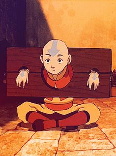 Aang and Ikki, like grandfather like granddaughter Avatar Aang, Avatar Airbender, Avatar Legend Of Aang, Avatar The Last Airbender Funny, The Last Avatar, Avatar Funny, Team Avatar, Legend Of Korra, Zuko