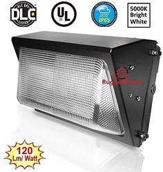 NEW! RuggedGrade 51-124 Home  100 Watt LED Wall Pack Light &ndash 1170...NO TAX #RuggedGrade