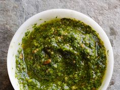 How to make pesto: : Blend 8 cups packed basil leaves, 1 cup olive oil, 1/2 cup toasted pine nuts, 2 to 4 garlic cloves and 1/2 teaspoon salt in a food processor until almost smooth. Stir in 1/2 cup grated parmesan cheese.